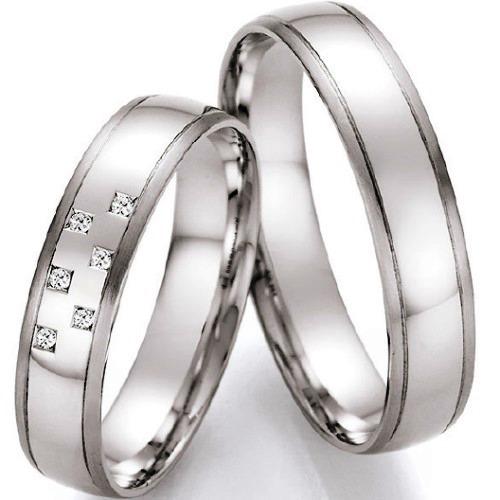 Snubni Prsteny Bile Zlato