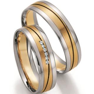 Snubni Prsteny Snubni Prsteny Chirurgicka Ocel Titan Stribro
